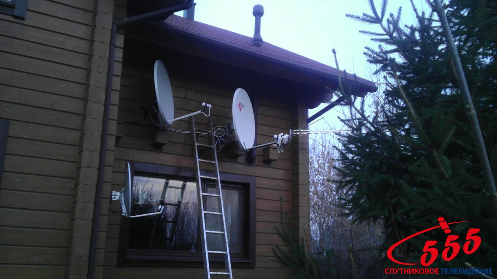 Монтаж антени